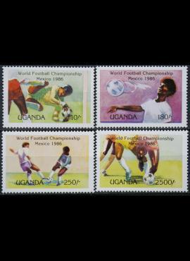 Uganda, pilna serija ScNr 480-483 MNH** V