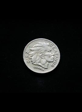 Kolumbija, 10 sentavų 1956m