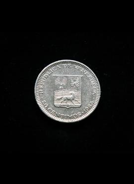 Venesuela, 50 sentimų 1965m