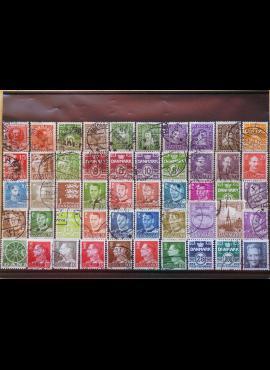 50 vnt. Danijos pašto ženklų pakuotė HF017