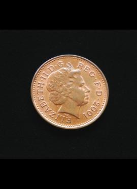 Didžioji Britanija, 1 pensas 2001m