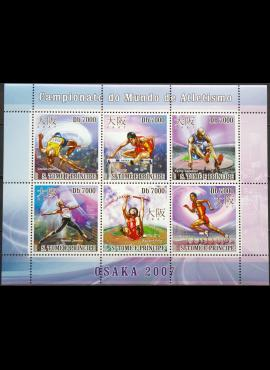 San Tomė ir Prinsipė, pilna serija MiNr 3087-3092 MNH** V