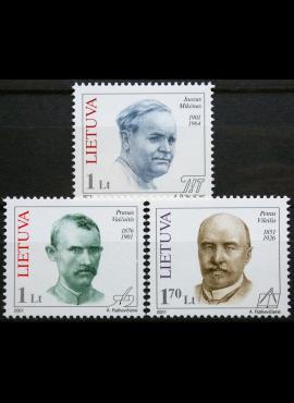 Lietuva, pilna serija MiNr 753-755 MNH**