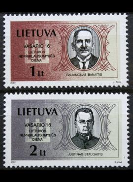 Lietuva, pilna serija MiNr 751-752 MNH**
