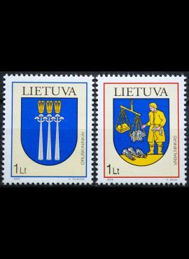 Lietuva, pilna serija MiNr 869-870 MNH**