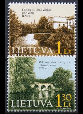 Lietuva, pilna serija MiNr 760-761 MNH**