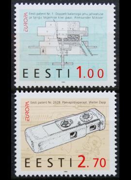 Estija, pilna serija ScNr 274-275 MNH**