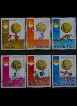 Šiaurės Korėja, pilna serija ScNr 1491-1496 Used(O) G