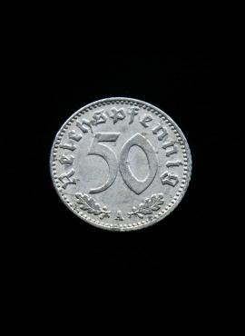 Vokietijos Reichas, 50 reichspfenigių 1942m-A