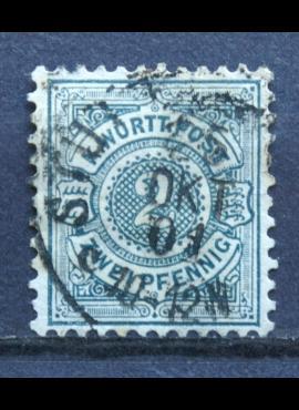 Senoji Vokietija, Viurtembergas, 1894m, MiNr 60 Used(O)