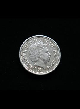 Didžioji Britanija, 5 pensai 2005m
