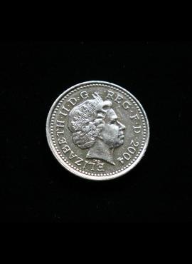 Didžioji Britanija, 5 pensai 2004m