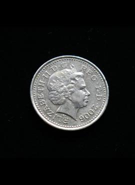 Didžioji Britanija, 5 pensai 2006m