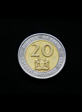 Kenija, 20 šilingų 1998m