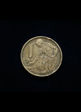 Čekoslovakija, 1 krona 1962m
