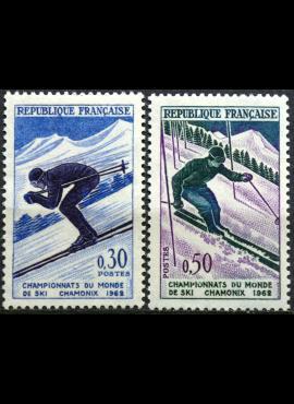Prancūzija, pilna serija ScNr 1019-1020 MNH**