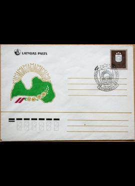 Latvija, 1991m pirmos dienos vokas G