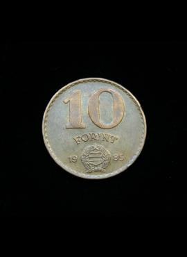 Vengrija, 10 forintų, 1985m