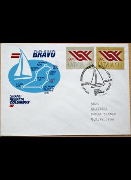 Latvija, 1992m proginis vokas G