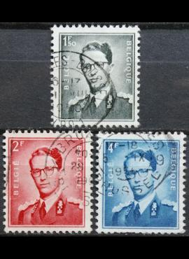 Belgija, pilna serija ScNr 451-452, 457 Used(O)