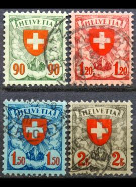 Šveicarija, pilna serija ScNr 200-203 Used(O)