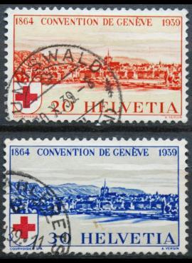 Šveicarija, pilna serija ScNr 268-269 Used(O)