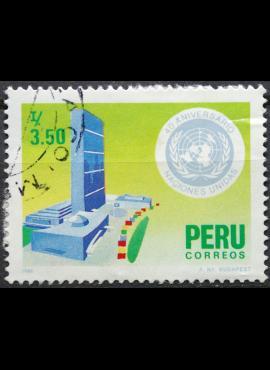 Peru ScNr 871 Used(O) E