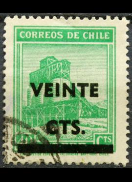 Čilė, ScNr 253 Used(O) E