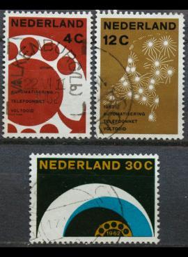 Nyderlandai, pilna serija ScNr 391-393 Used(O)