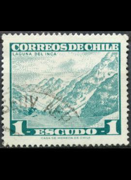 Čilė, ScNr 329A Used(O) E