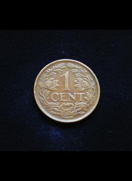 Nyderlandų Antilai, 1 centas 1952m