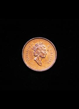 Kanada, 1 centas 2001m