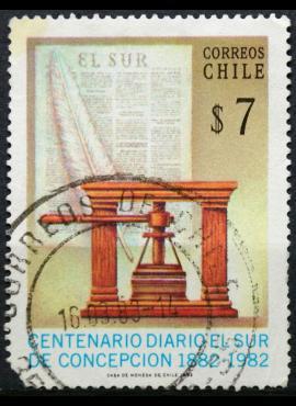 Čilė ScNr 631B Used(O) E