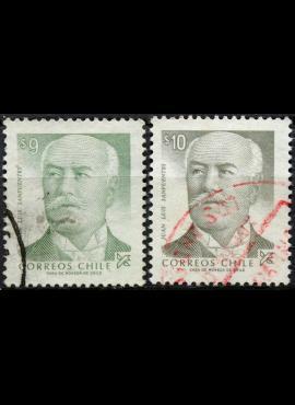 Čilė ScNr 645, 646A Used(O) E