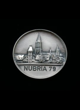 Vokietija, 1979m Ulmo miesto numizmatikos parodos medalis