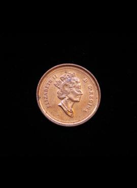 Kanada, 1 centas 1998m