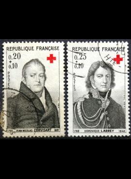 Prancūzija, pilna serija ScNr B385-B386 Used(O)