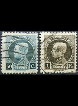 Belgija ScNr 162, 165 Used(O)