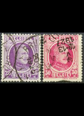 Belgija ScNr 151a, 153 Used(O)