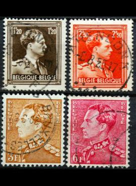 Belgija ScNr 285, 291, 304, 306 Used(O)