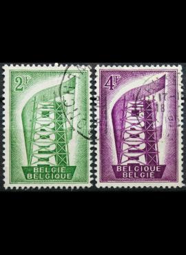Belgija, pilna serija ScNr 496-497 Used(O)