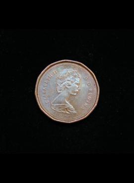 Kanada, 1 centas 1987m