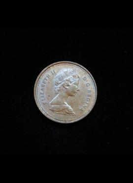 Kanada, 1 centas 1980m