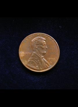 JAV, 1 centas 1998m-D