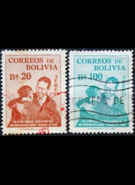Bolivija ScNr C176, C180 Used(O) E