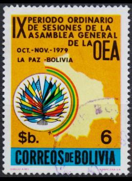 Bolivija ScNr 644 Used(O) E