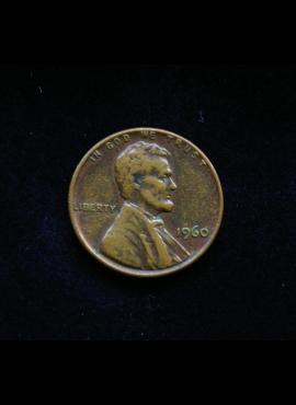 JAV, 1 centas 1960m
