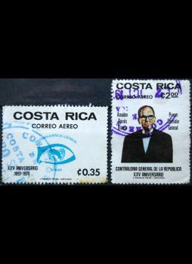 Kosta Rika, pilna serija ScNr C673-C674 Used(O) E