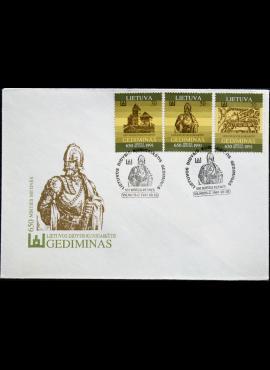 Lietuva, 1991m pirmos dienos vokas su MiNr 486-488