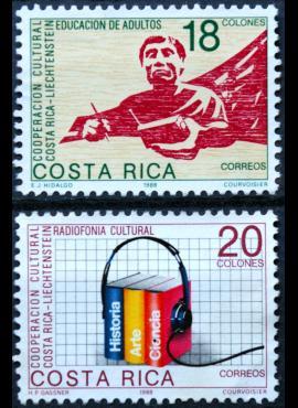 Kosta Rika, pilna serija ScNr 401-402 MNG(*) E